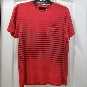 #291 NWT Buffalo Red/Black Short Sleeve T-shirt